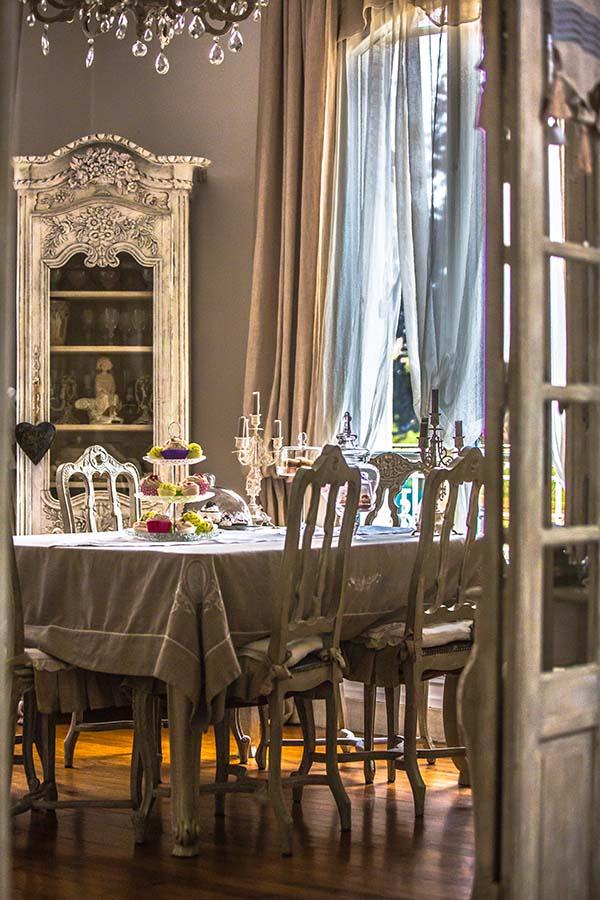 SalonSalle  Manger  Maison Esprit Boudoir  Location Pour