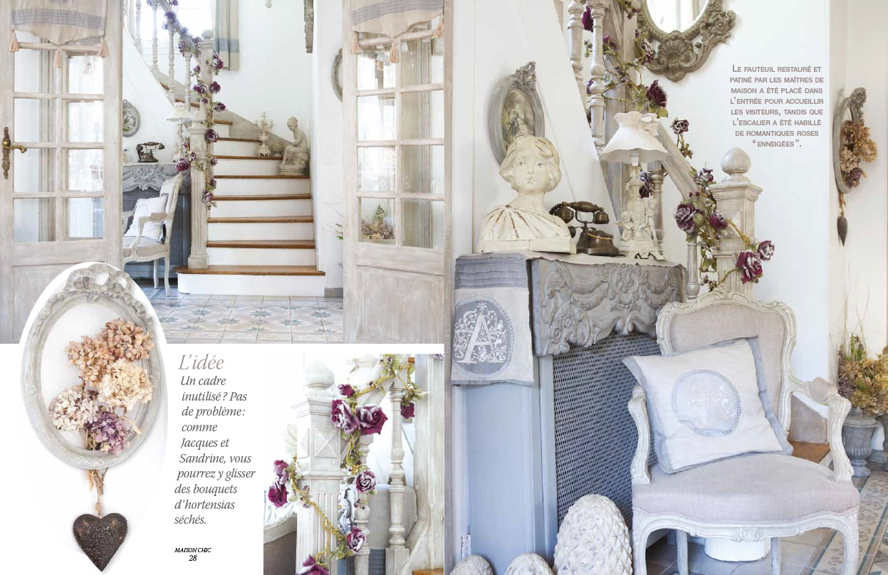 Maison chic magazine perfect la maison chic in galway is for Magazine tendance deco