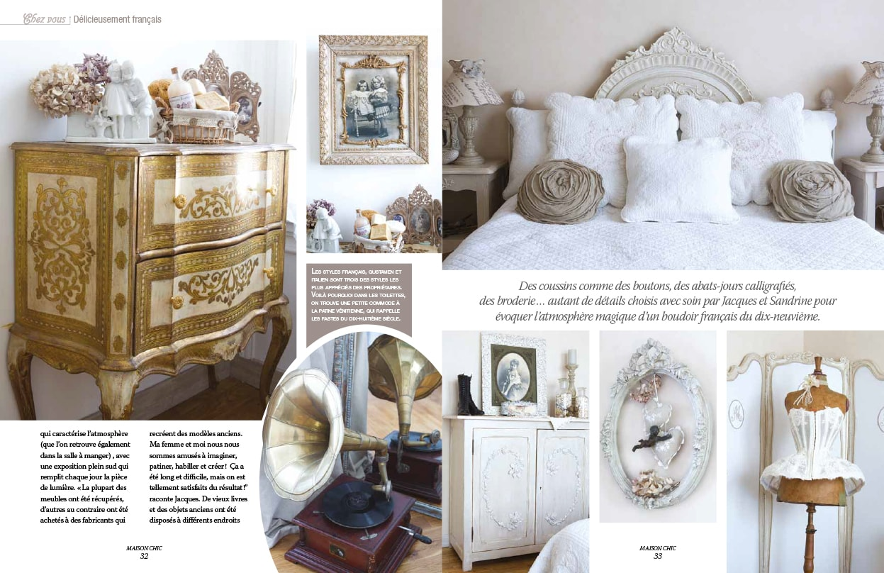 magazine maison chic good fabulous magazine deco maison beautiful magazine maison chic with. Black Bedroom Furniture Sets. Home Design Ideas